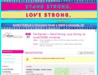 standstrong-lovestrong.whindo.com screenshot