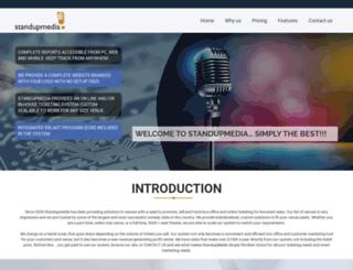 standup-media.com screenshot