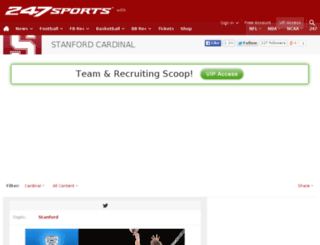 stanford.247sports.com screenshot