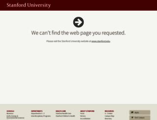 stanford.org screenshot