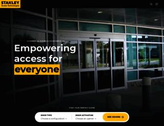 stanleyaccess.com screenshot