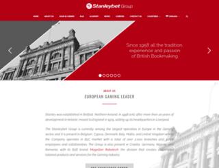 stanleybet.com screenshot