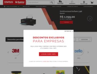 staples.com.br screenshot