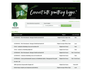 starbucks.easycruit.com screenshot