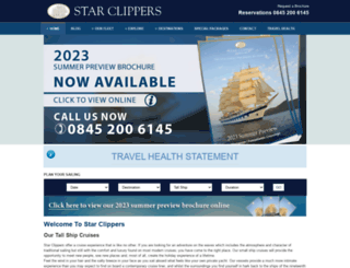 starclippers.co.uk screenshot