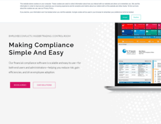 starcompliance.co.uk screenshot