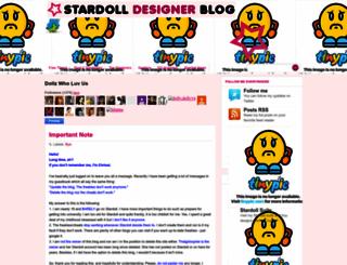 stardolldesigner.blogspot.com screenshot