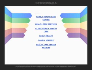 stardustfamily.com screenshot