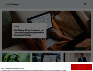 starfinanz.de screenshot