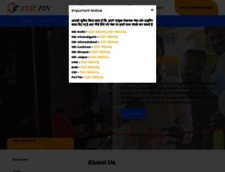 starfinindia.co.in screenshot