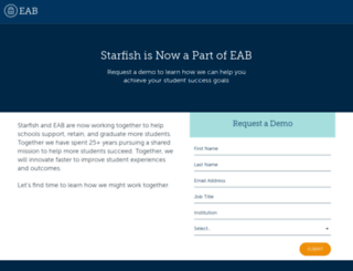 starfish.hobsons.com screenshot