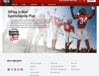 starkville.sportssignupapp2.com screenshot