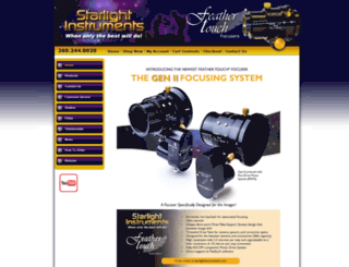 starlightinstruments.com screenshot