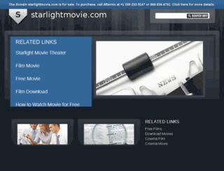 starlightmovie.com screenshot