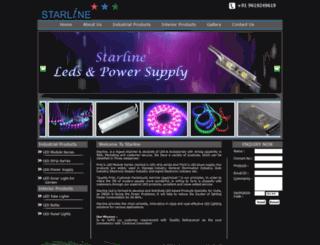 starlineled.com screenshot