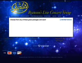 starlitetheatre.reservebranson.com screenshot