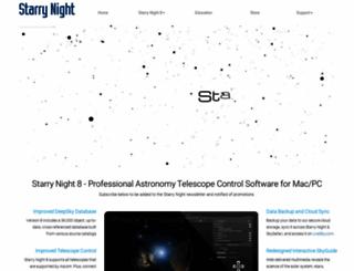 starrynight.com screenshot