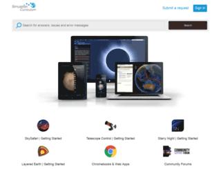 starrynightsupport.com screenshot