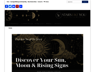 starslikeyou.com.au screenshot