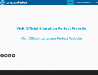 start.languageperfect.com screenshot