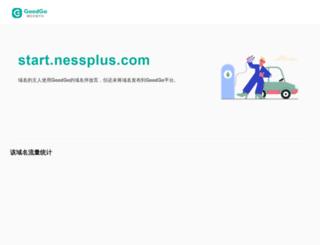 start.nessplus.com screenshot
