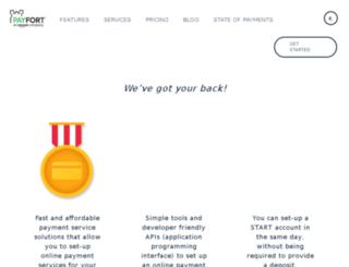 start.payfort.com screenshot