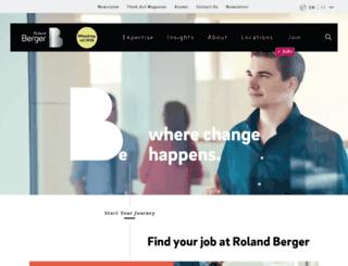start.rolandberger.com screenshot