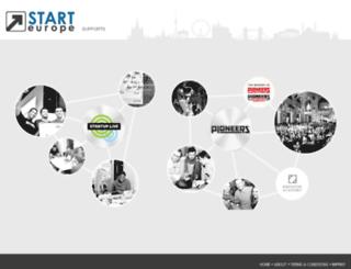 starteurope.at screenshot