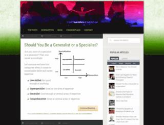 startgainingmomentum.com screenshot