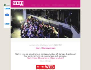 startinlyon.com screenshot