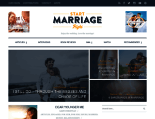 startmarriageright.com screenshot