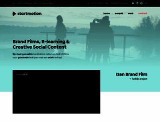 startmotion.be screenshot