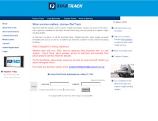startrackexpress.com.au screenshot