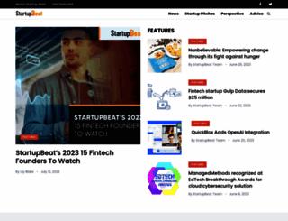 startupbeat.com screenshot