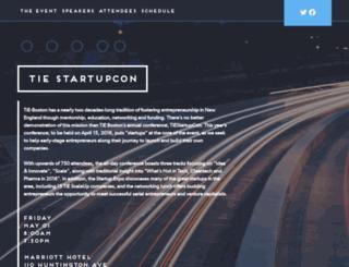 startupcon.splashthat.com screenshot
