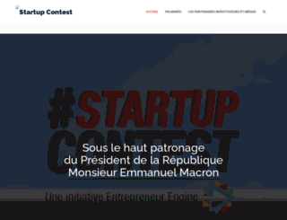 startupcontest.fr screenshot