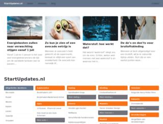 startupdates.nl screenshot