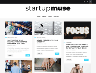 startupmuse.com screenshot