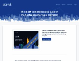 startupmuster.com screenshot
