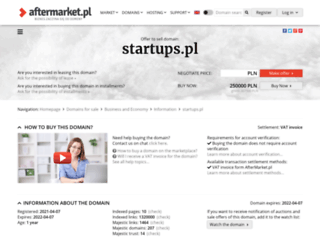 startups.pl screenshot