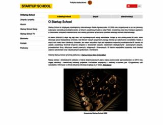 startupschool.pl screenshot