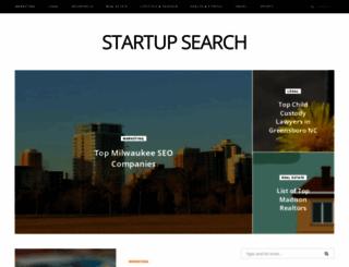 startupsearch.org screenshot