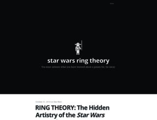 starwarsringtheory.com screenshot