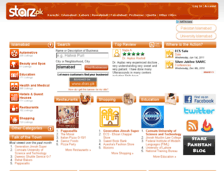 starz.pk screenshot