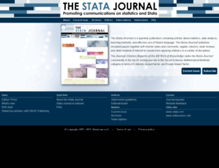 stata-journal.com screenshot