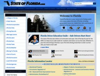 stateofflorida.com screenshot
