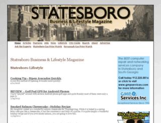 statesboro.biz screenshot