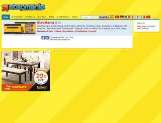 static.stepmania.com screenshot