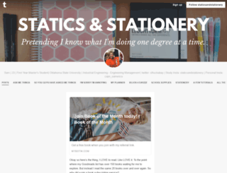 staticsandstationery.tumblr.com screenshot