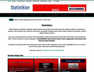 statistikian.blogspot.com screenshot